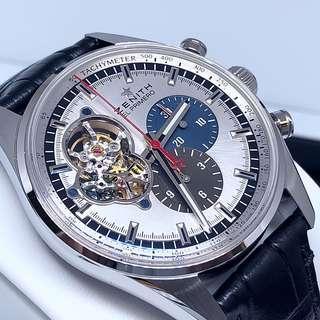 🚚 FS.BNIB ZENITH CHRONOMASTER EL PRIMERO OPEN AUTOMATIC CHRONOGRAPH 42MM WATCH 03.2040.4061/69.C496