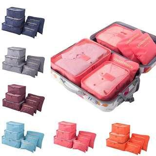 Travel organizer pouch