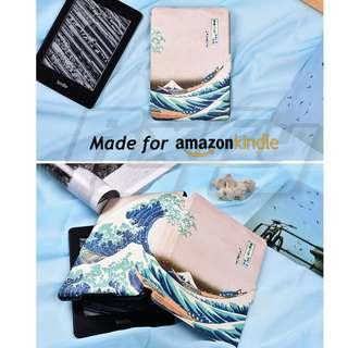 Japan Sea Wave Kindle Paperwhite 4 3 2 1 Case Cover Sleeve