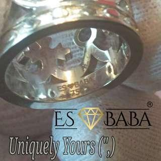 🚚 Uniquely Yours 18K Crown Ring