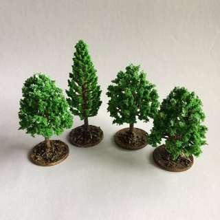 🚚 Mini Terrain Trees