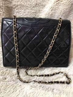Vintage Chanel Quilted Classic Full Flap