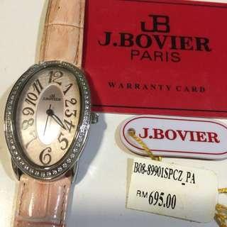 J.bovier Ladies Watch