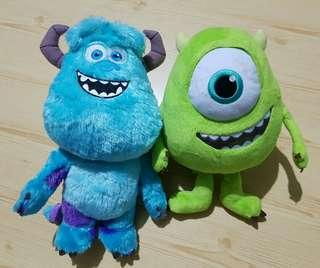 Monster Inc. Plush Toys