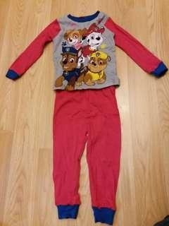 全新正版 男童睡衣 95碼 合1歲半至3歲半