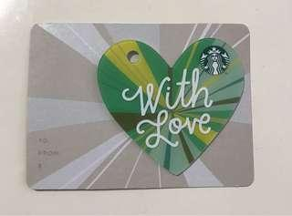 🚚 Starbucks Card (registered/ 0 value)
