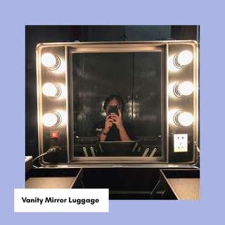 Vanity Mirror Luggage