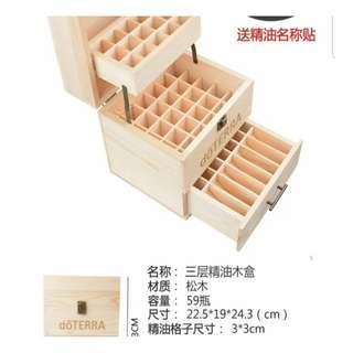 🚚 Essential Oil Storage Box