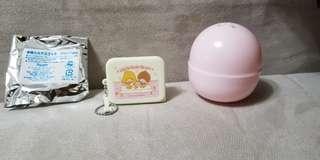 Sanrio Little twin Stars 盒仔 扭蛋 吊飾 鎖匙扣 全新 有蛋殼