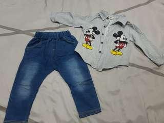 setwear/2in1 18mo-1yo boy