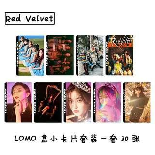 [ $2.50 PO ] RED VELVET LOMO CARDS