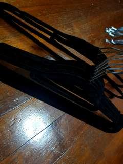 Thin Suede Hangers