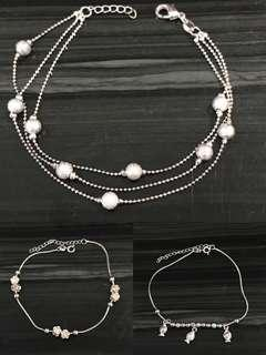 Silver 925 anklet(new)