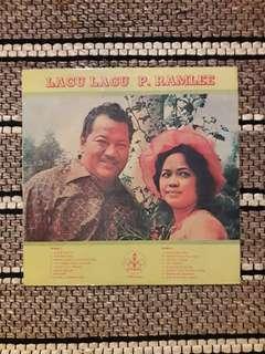 P. Ramlee - Lagu Lagu P. Ramlee LP / Vinyl