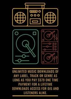 Djs download 100,000,000 songs from any genre.