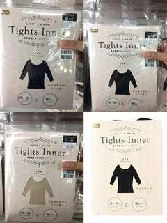 日本製 - tights inner 『女士』輕薄防靜電系列-發熱衣-共五色