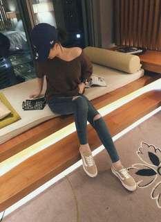 韓國超激瘦牛仔褲