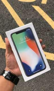 Iphone X 256gb BRANDNEW