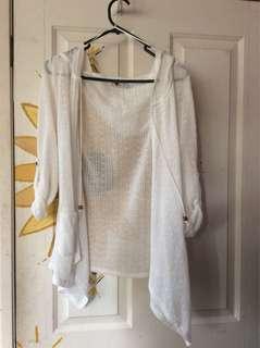 Temt white boho jacket