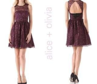 Alice and Olivia lace dress, size 6
