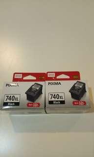 🚚 (3 pieces) Original Canon Ink PG-740XL