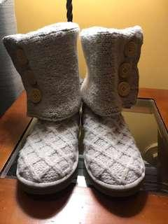 UGG sweater knit boot
