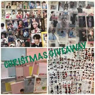 WANNA ONE & BTS CHRISTMAS GIVEAWAY~