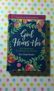BN Devotional - 'God Hears Her: 365 Devotions for Women'