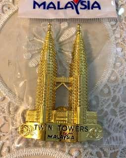 FRIDGE MAGNET TWIN TOWERS KUALA LUMPUR