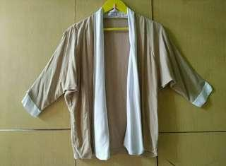 OUTER RAYON NUDE WHITE