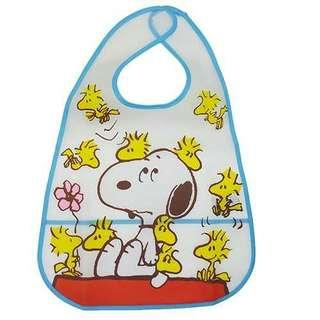 Snoopy and Woodstock 口水巾