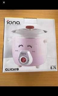 (BNIB) IONA Slow Cooker (700 ml) ~ Pink (2018)