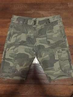 Marks & Spencer Camo Shorts