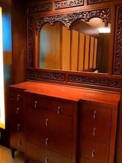 Dresser Cum chest of drawers