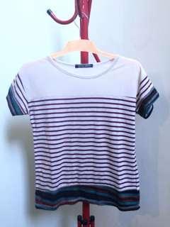 Multicolor Stripes Tops