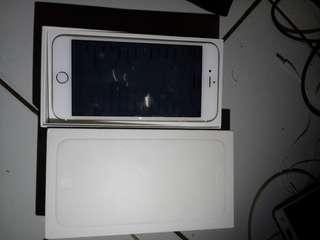 Iphone 6plus 16gb gold fullset ori