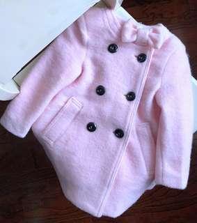 全新 女童外套 厚身 絨褸  羊毛外套 50%羊毛 合10至14歲 原價899