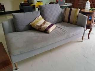 Sofa with velvet skin 170x98x40cm