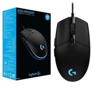 Unopened BNIB Logitech Gaming Mouse G102