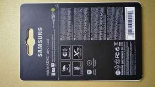 64GB Samsung Evo Sdxc uhs-1 card
