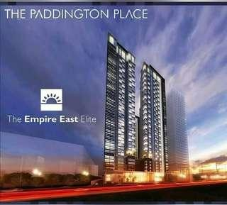 Pre-selling studio units in The Paddington Place Shaw Boulevard