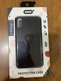 iPhone X black phone cover (brand new)