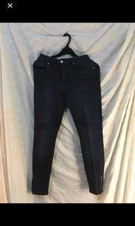 h&m bikers jeans