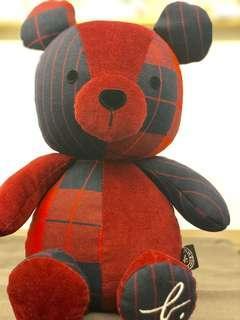 代購 36 cm Agnes b bear 熊仔連塵袋