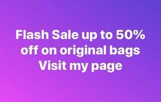 Flash Sale up to 50% off