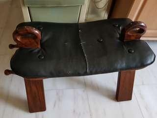 Camel stool made of very good wood
