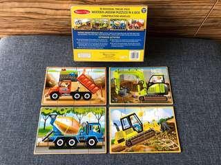 Melissa & Doug Wooden Jigsaw Puzzles