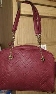 Women's Bag Obermain Maroon