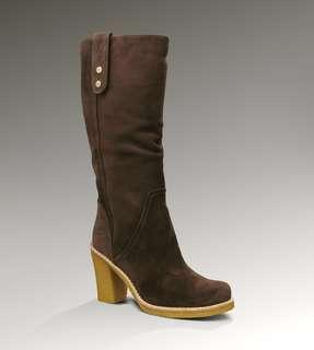 NEW PRICE! UGG Suede Leather Boots Shoes in Brown Size 7 - 7.5