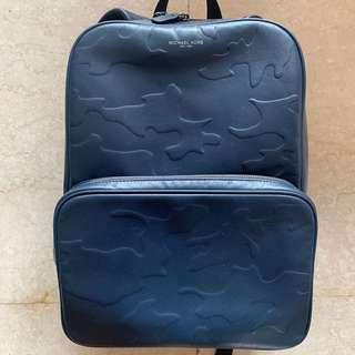 Michael Kors 藍迷彩後背包